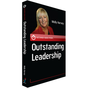 seconds away from outstanding leadership book molly harvey