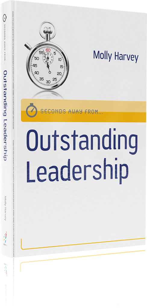 outstanding leadership book molly harvey